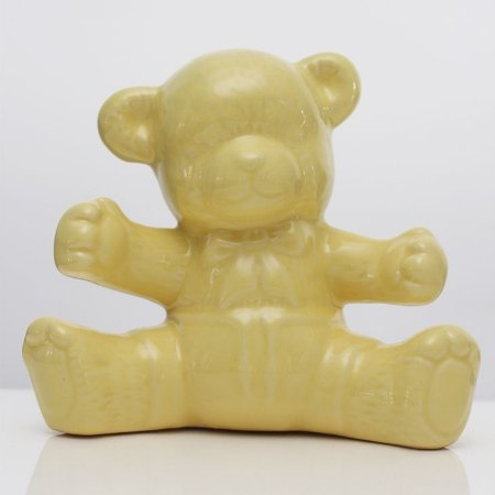 Urso de Louça Amarelo