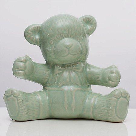 Urso de Louça Verde
