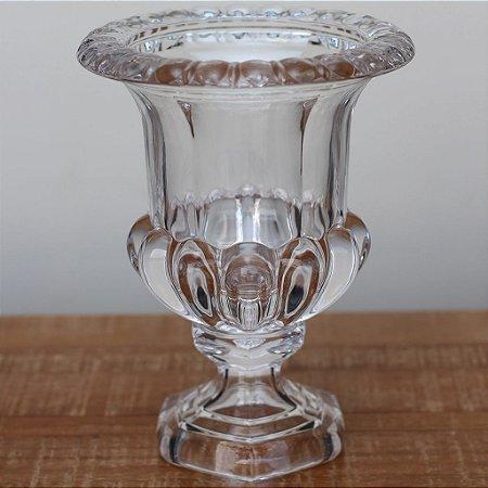 Vaso grego de vidro