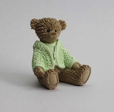 Ursinho de Resina - Verde