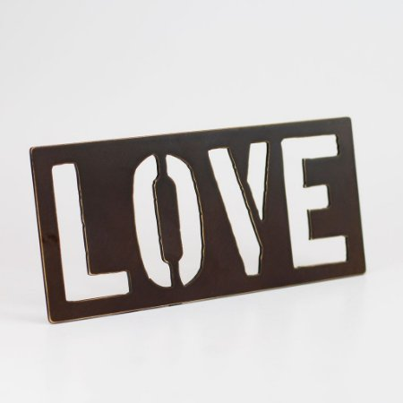 Placa MDF Love Horizontal