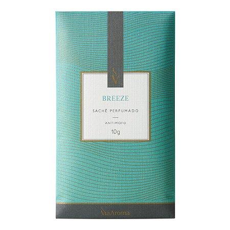 Sachê Perfumado Breeze 10g Via Aroma