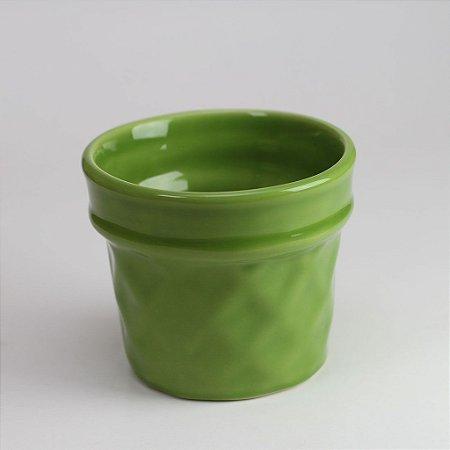 Vaso Casquinha Verde Natal