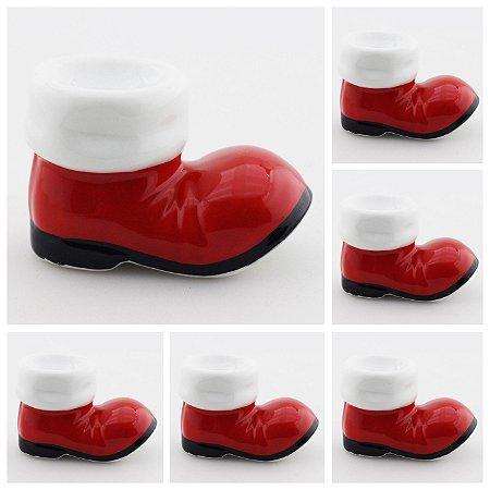 6 botas do Papai Noel