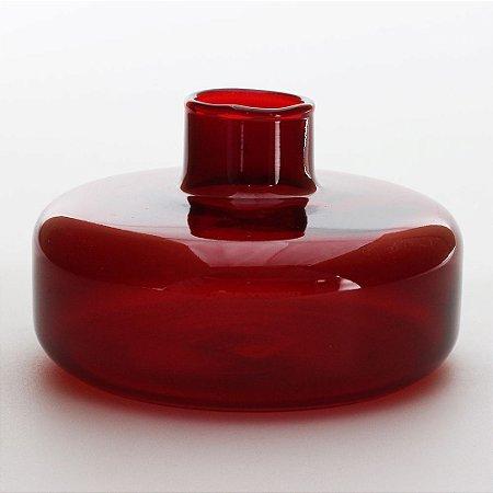 Vaso Flat Vermelho