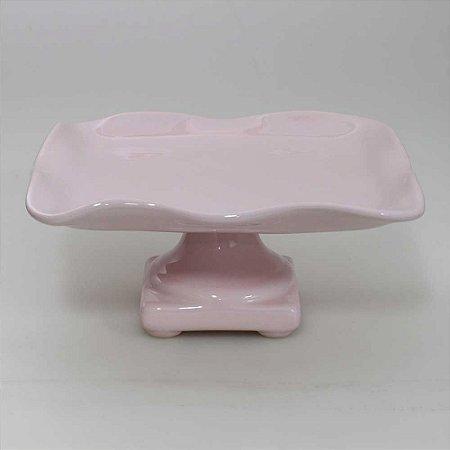 Boleira Quadrada Rosa Candy