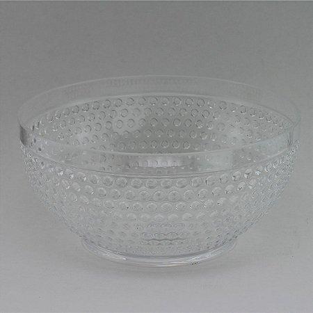 Tigela de plástico Transparente