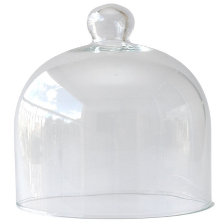 Redoma de vidro 17x17cm