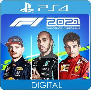 F1 2021 PS4 Mídia Digital