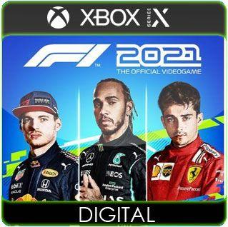 F1 2021 Xbox Series X S Mídia Digital