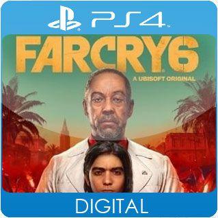 Far Cry 6 PS4 Mídia Digital