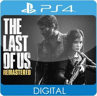 The Last Of Us Remastered PS4 Mídia Digital