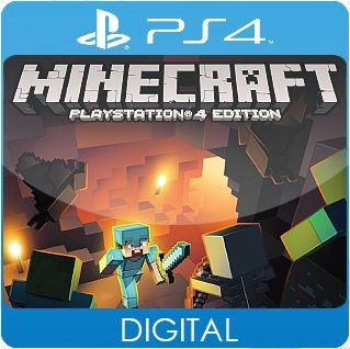 Minecraft: PlayStation 4 Edition PS4 Mídia Digital