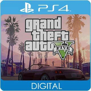 Grand Theft Auto V PS4 Mídia Digital