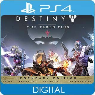 Destiny: The Taken King Legendary Edition PS4 Mídia Digital
