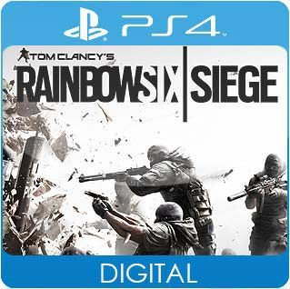 Tom Clancy's Rainbow Six Siege PS4 Mídia Digital
