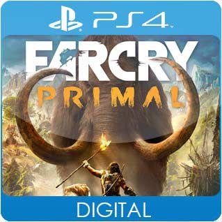 Far Cry Primal PS4 Mídia Digital