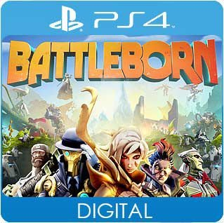 Battleborn PS4 Mídia Digital