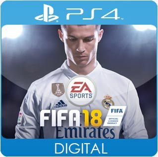 FIFA 18 PS4 Mídia Digital