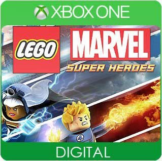 LEGO Marvel Super Heroes Xbox One Mídia Digital