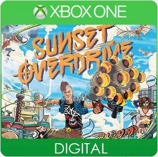Sunset Overdrive Xbox One Mídia Digital