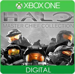 Halo: The Master Chief Collection Xbox One Mídia Digital