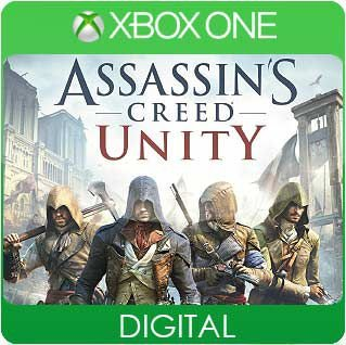 Assassins Creed Unity Xbox One Mídia Digital
