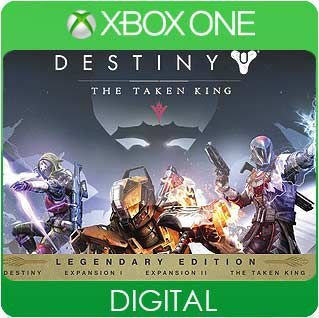 Destiny: The Taken King Legendary Edition Xbox One Mídia Digital