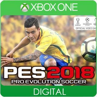 Pro Evolution Soccer 2018 Xbox One Mídia Digital
