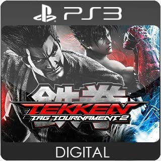 Tekken Tag Tournament 2 PS3 Mídia Digital