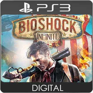 BioShock Infinite PS3 Mídia Digital