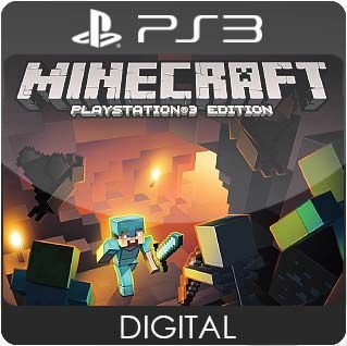 Minecraft: PlayStation 3 Edition PS3 Mídia Digital
