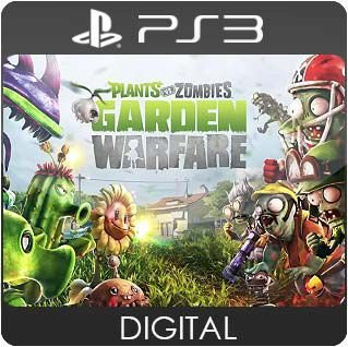 Plants vs Zombies Garden Warfare PS3 Mídia Digital