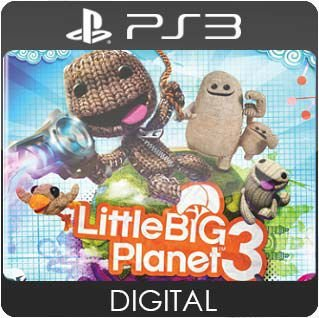 LittleBigPlanet 3 PS3 Mídia Digital