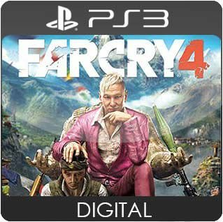 Far Cry 4 PS3 Mídia Digital