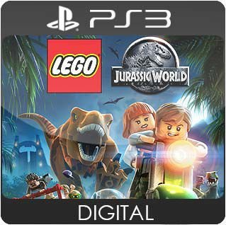 LEGO Jurassic World PS3 Mídia Digital
