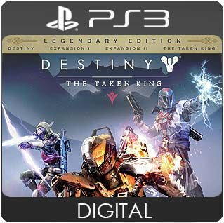 Destiny: The Taken King Legendary Edition PS3 Mídia Digital