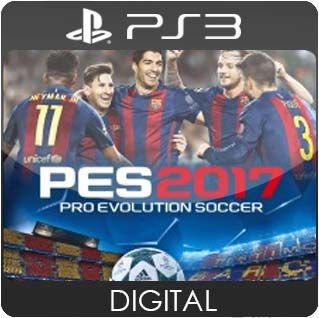 Pro Evolution Soccer 2017 PS3 Mídia Digital