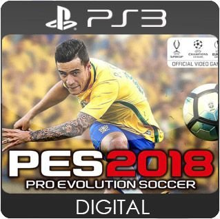Pro Evolution Soccer 2018 PS3 Mídia Digital
