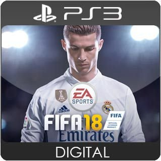 FIFA 18 PS3 Mídia Digital