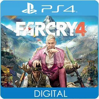 Far Cry 4 PS4 Mídia Digital