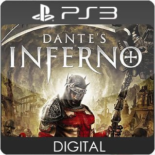 Dante's Inferno PS3 Mídia Digital