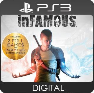 inFAMOUS Collection PS3 Mídia Digital