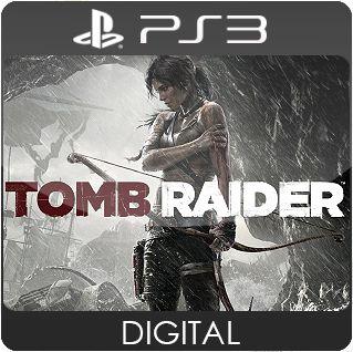 Tomb Raider PS3 Mídia Digital