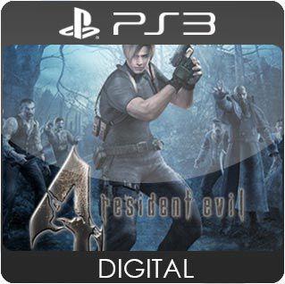 Resident Evil 4 HD PS3 Mídia Digital