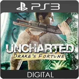 Uncharted: Drake's Fortune PS3 Mídia Digital