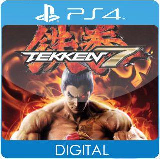 TEKKEN 7 PS4 Mídia Digital