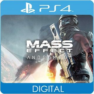 Mass Effect: Andromeda PS4 Mídia Digital