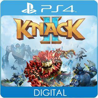 Knack 2 PS4 Mídia Digital