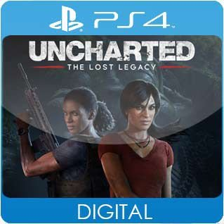 UNCHARTED: The Lost Legacy PS4 Mídia Digital